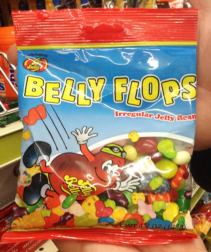 Irregular Jelly Beans at an equally irregular price!